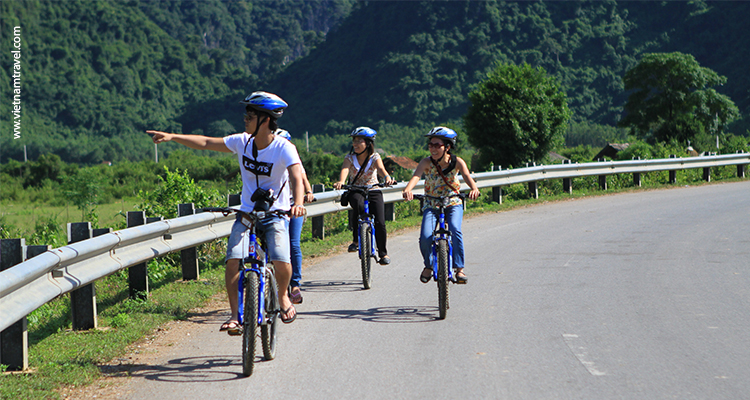 Cycling on old Ho Chi Minh trails