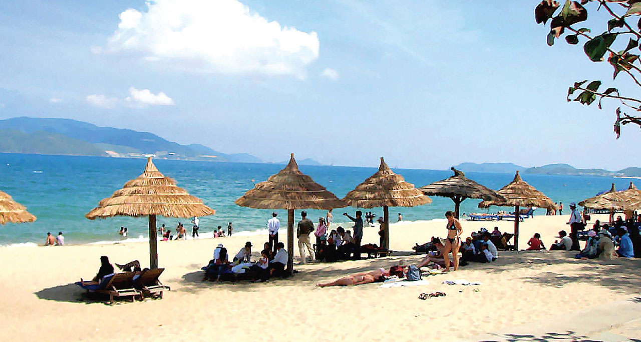 Day 8: Quang Binh – Free at leisure on beach.