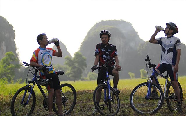 Biking North Vietnam