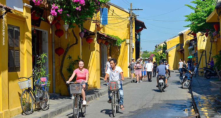 Biking in Hoian