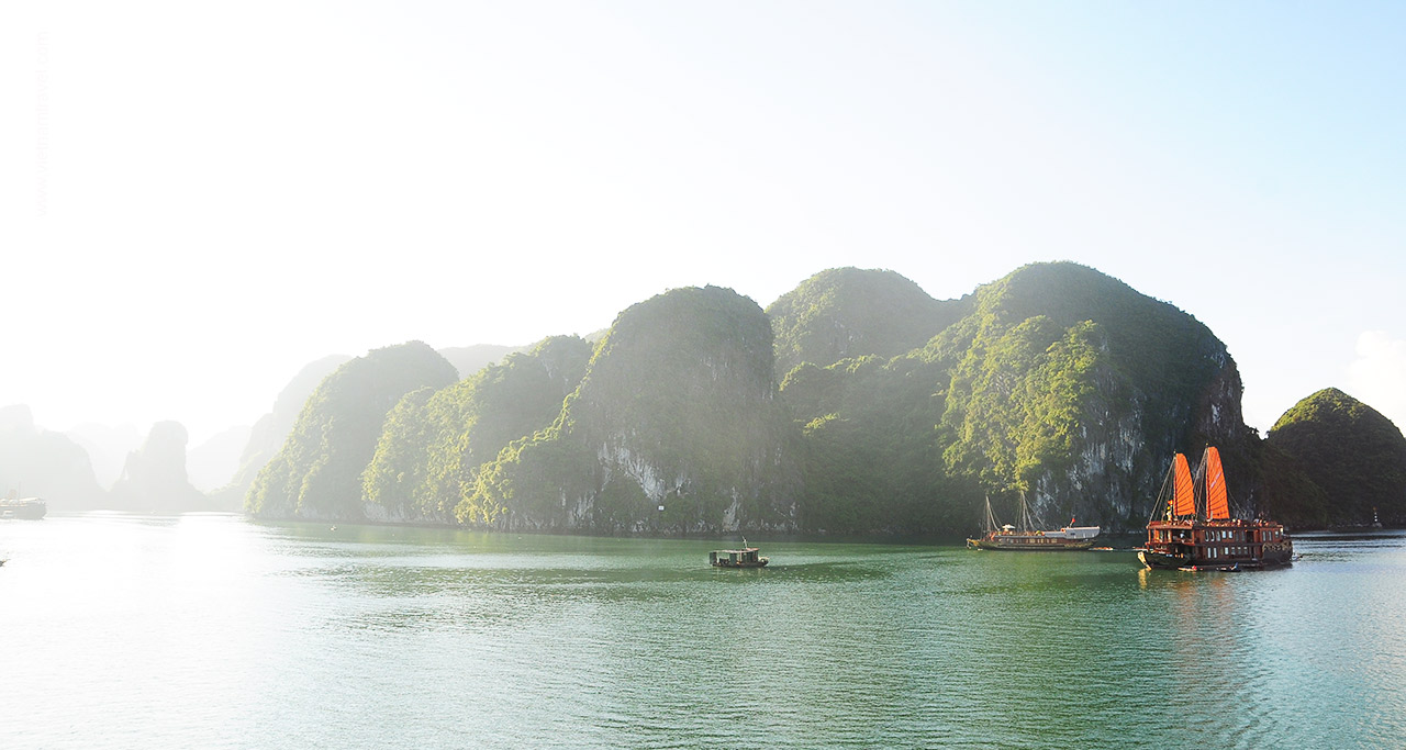Day 6: Hanoi – Halong Bay – Overnight on cruise.