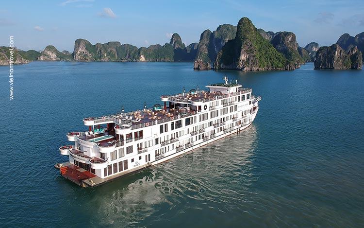 Exterior-Flycam-President Cruise