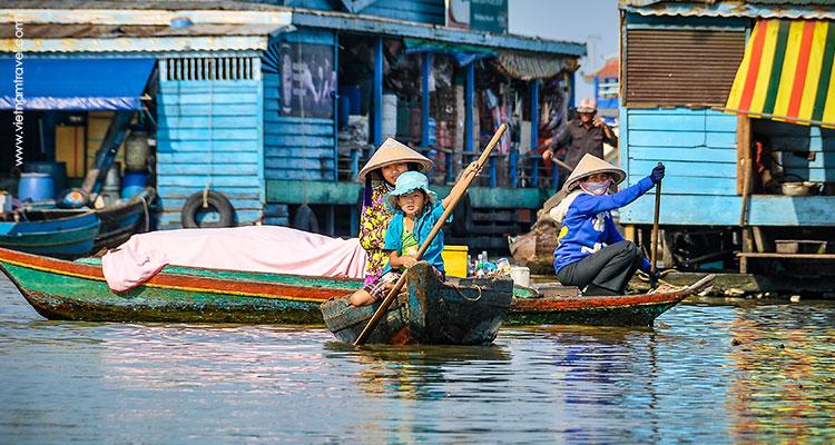 Day 6: Siem Reap – Kbal Spean – Banteay Srei – Sunset over Tonle Sap Lake.