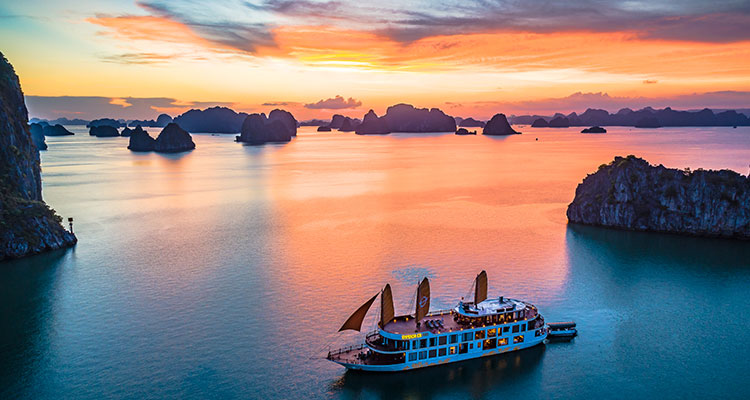 Day 3: Hanoi – Halong Bay – Overnight on cruise.