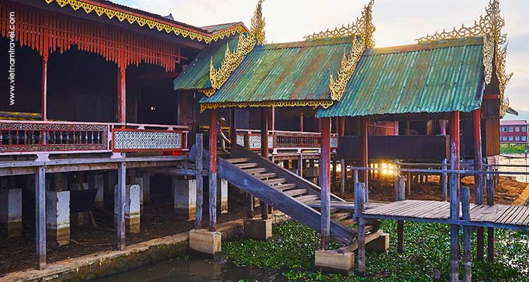 Day 7: Mandalay – Fly to Heho – Inle Lake .