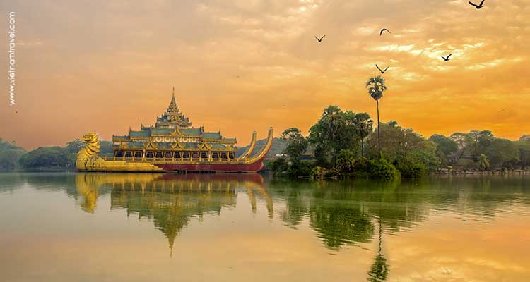 Day 8: Inle Lake – Five-day Market – Fly to Yangon.