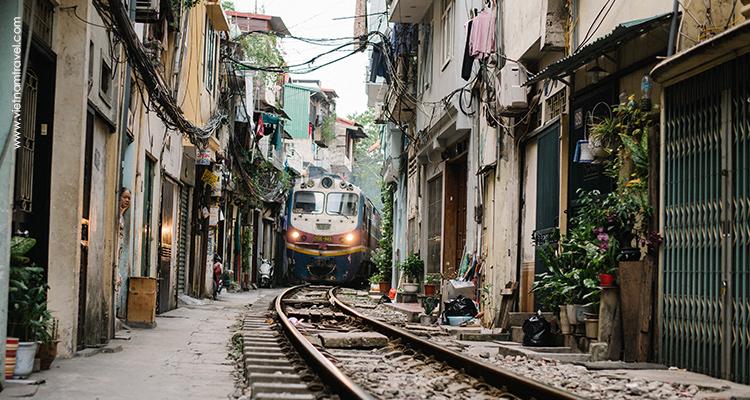 Day 5: Arrive at Hanoi Railway Station.