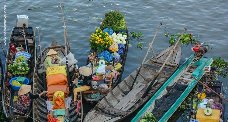 Day 11: Cai Rang Floating Market – Soc Trang sightseeing