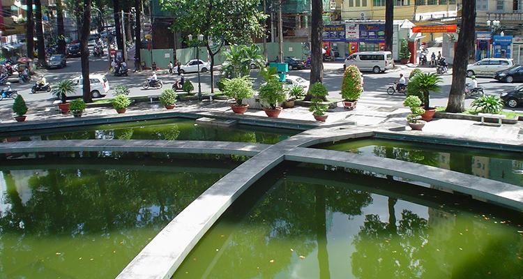 TURTLE LAKE- HO CHI MINH- VIETNAM