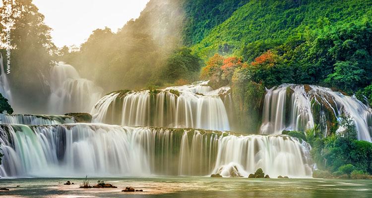 Day 7: Bac Can - Cao Bang - Ban Gioc Waterfall.