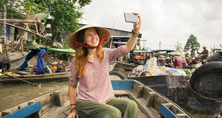 Day 11: Can Tho – Cai Rang Floating Market – Fly to Phu Quoc.