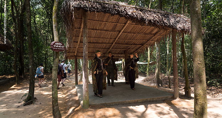 Detailed itinerary of Cu Chi Tunnels Tour (half-day)