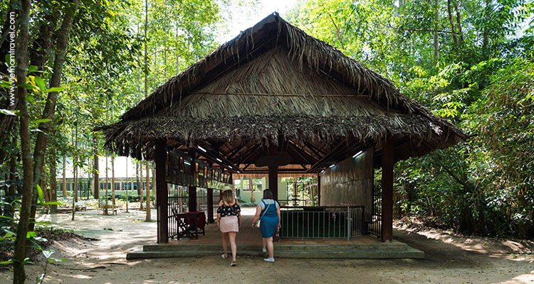 Day 11: Saigon – Cu Chi Tunnels  – Departure.