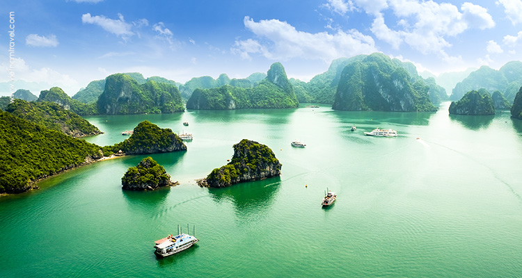 Day 7: Halong Bay – Hanoi.