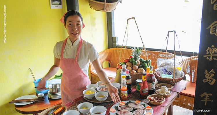 Day 5: Hoian Cooking Class (half day tour & join in group).