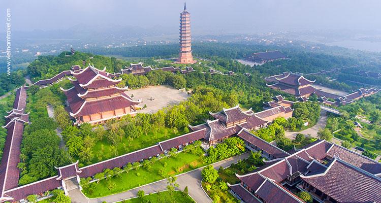Day 3: Hanoi – Ninh Binh – Bai Dinh & Trang An.