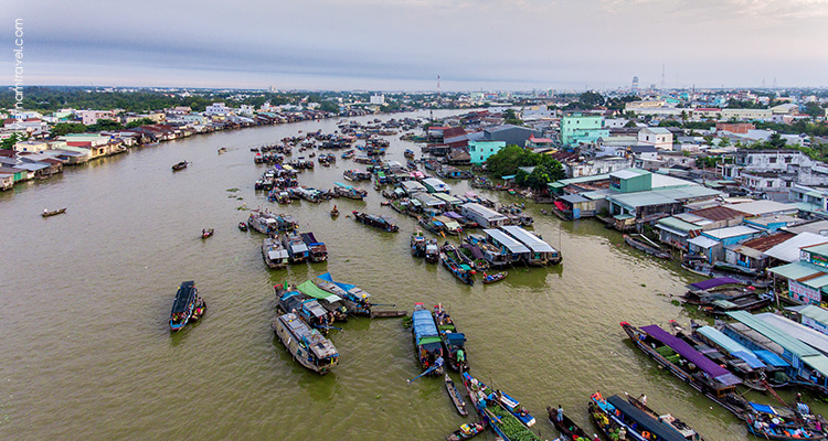 Day 11: Can Tho – Cai Rang Floating Market – HCMC.