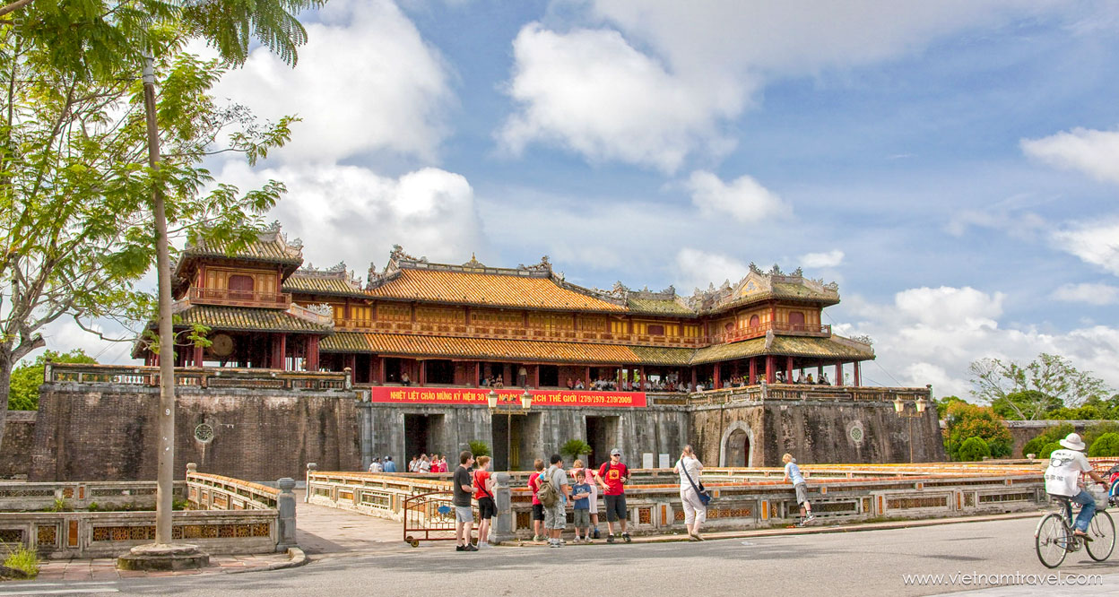 Hue Citadel - one of the most famous destinations of Vietnam