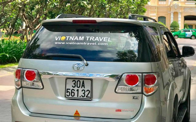 Private car - the best way to get to Hue from Danang