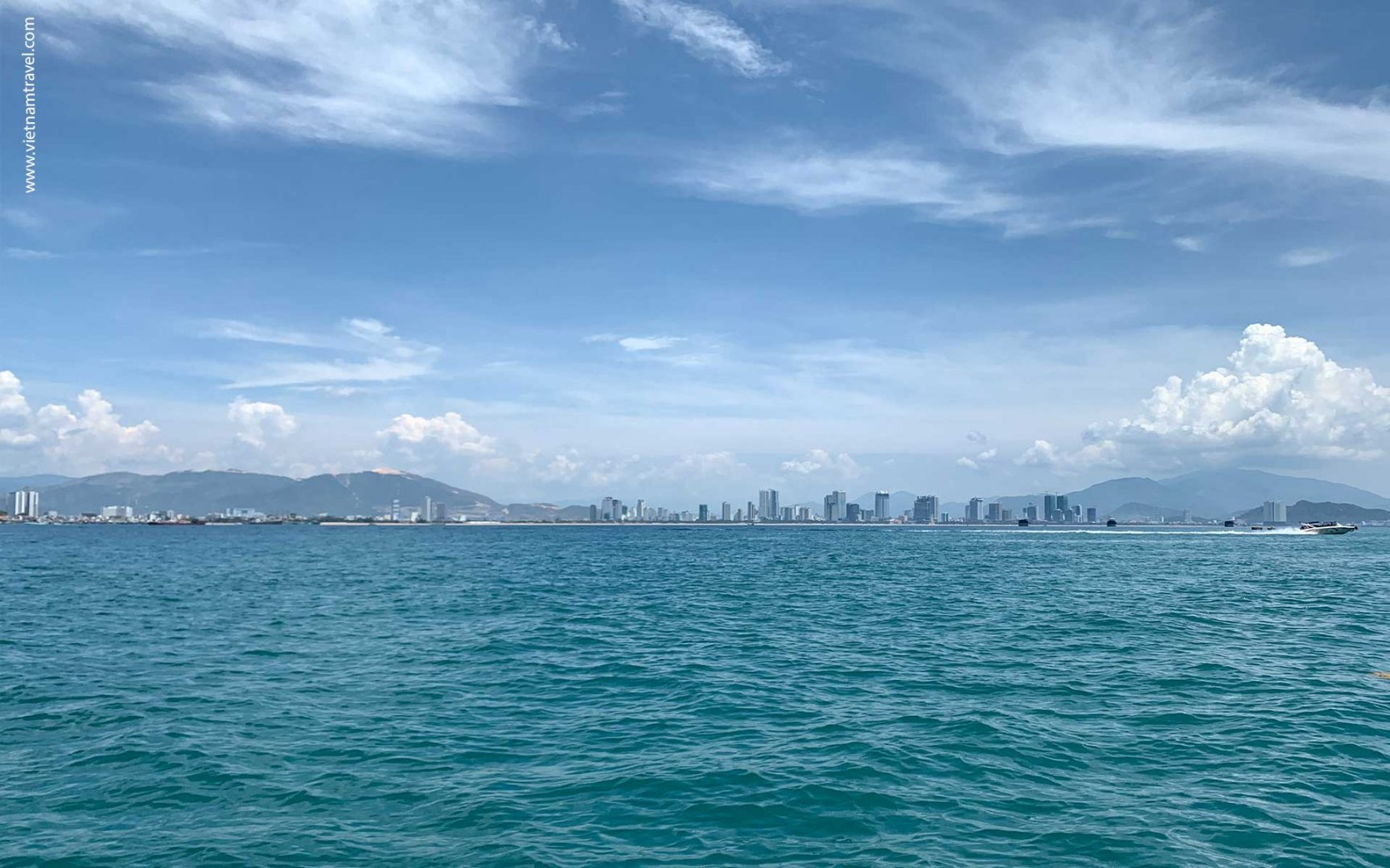 Nha Trang City- View from Spectrum of the sea