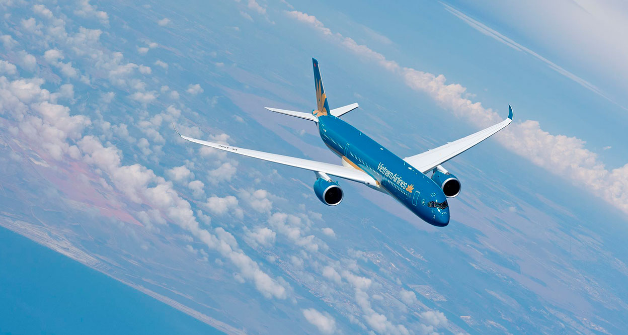 Vietnam airlines, the top air carrier in Vietnam