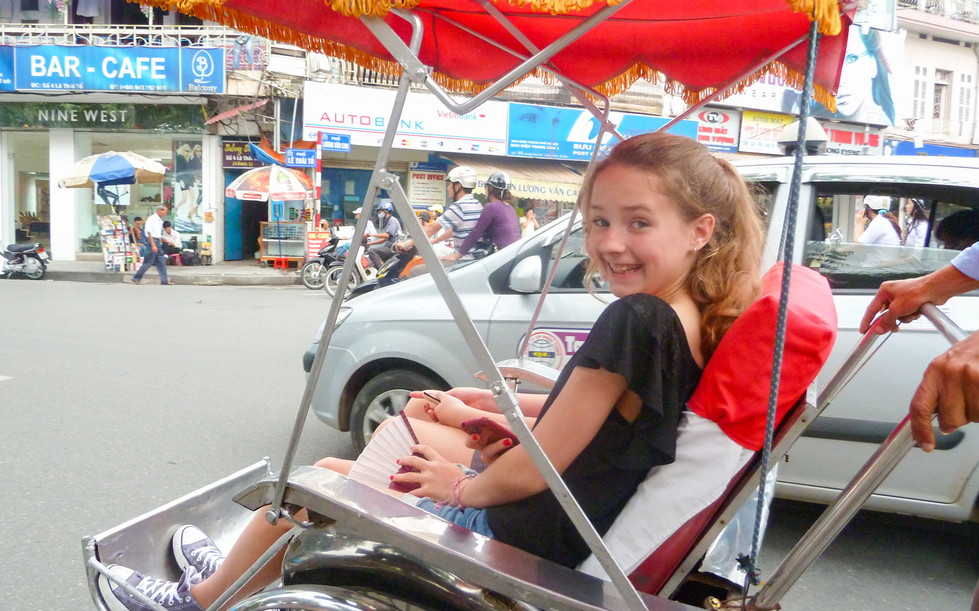 Ride a Cyclo in the Old Quarter of Hanoi