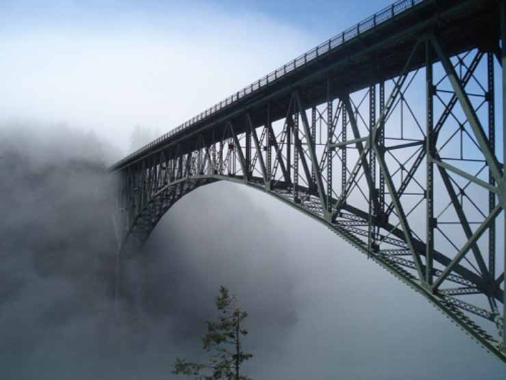 The Deception Pass Bridge