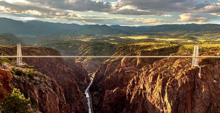 The Royal Gorge Bridge