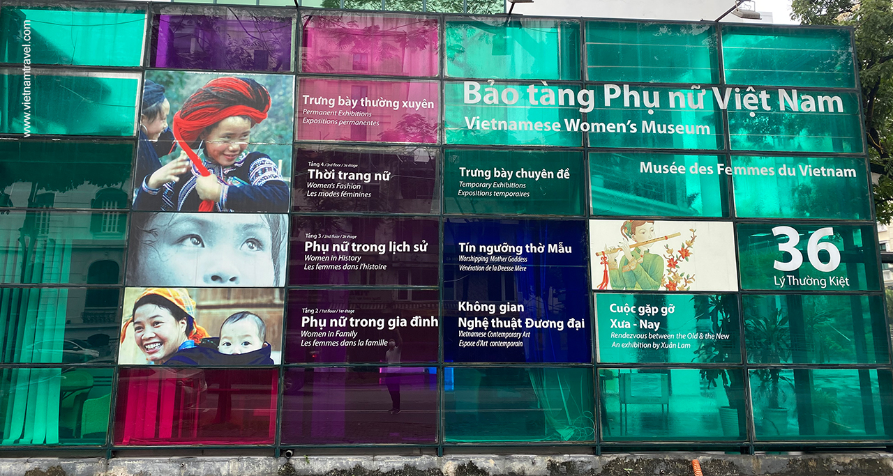 Visit the Vietnamese Women's Museum