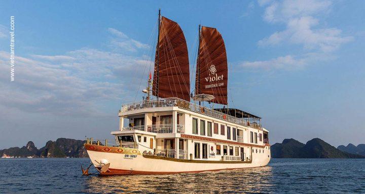 Violet Cruise Halong Vietnam