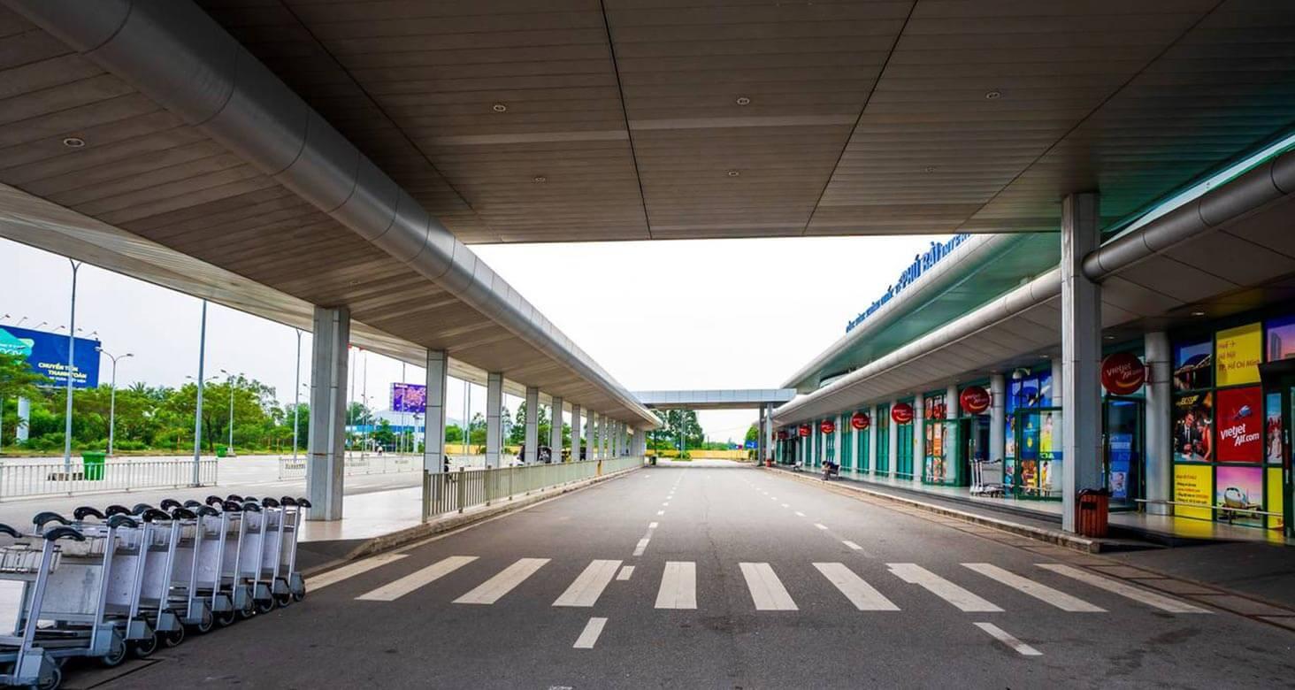 Phu Bai airport in Hue