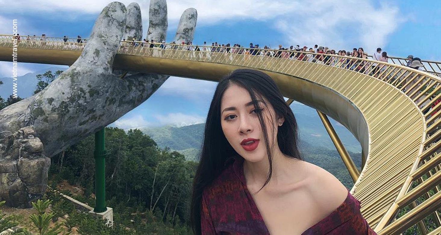 How to get to Vietnam Golden Bridge