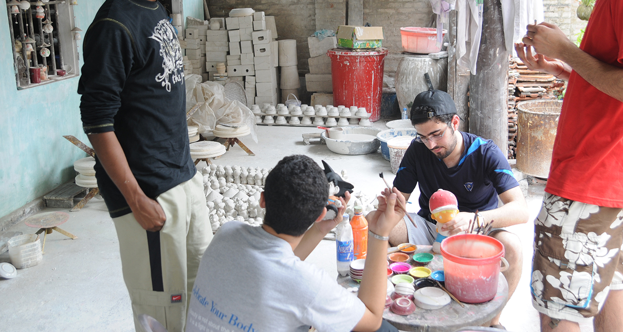 Make your own pottery at Bat Trang Ceramic Village