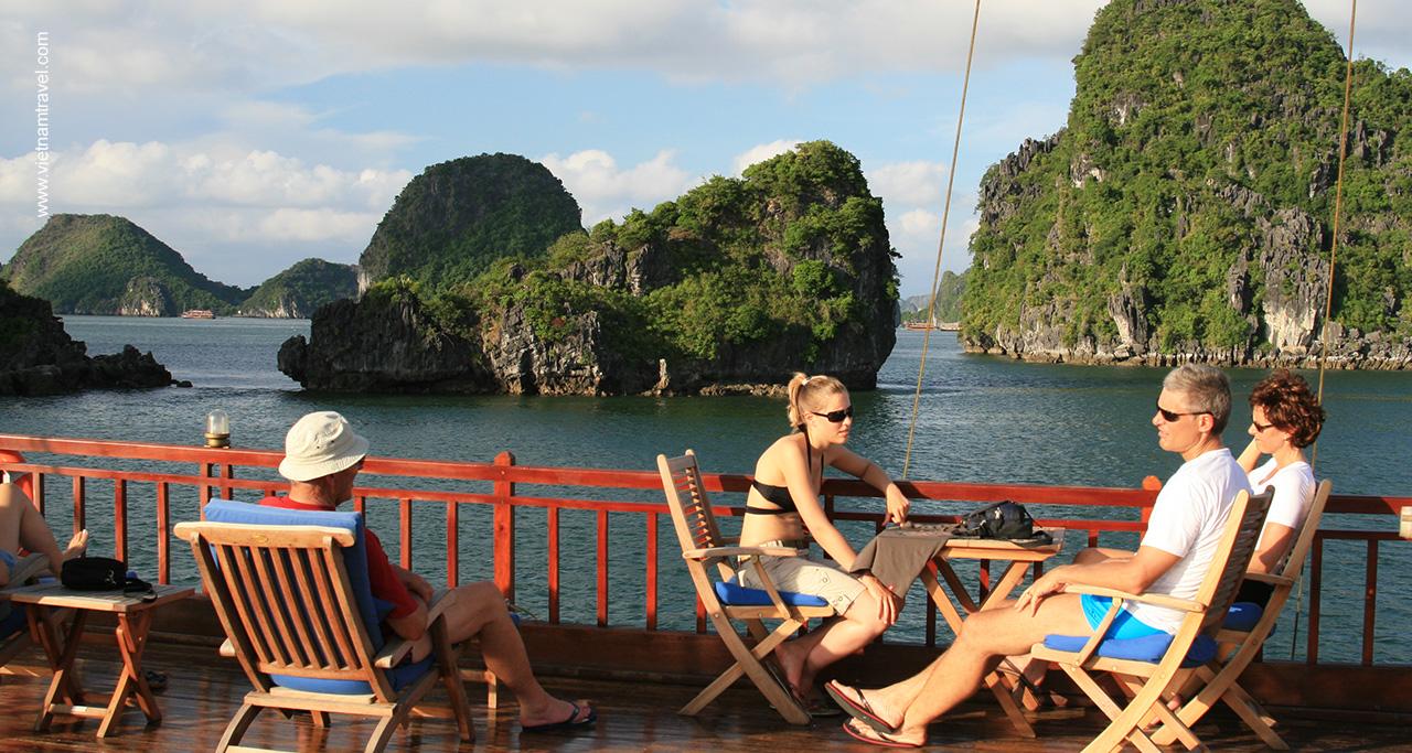 Day 4: Ninh Binh - Hai Phong - Overnight on cruise.