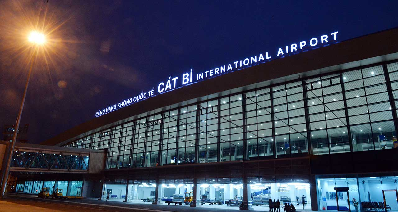 cat bi international airport vietnam
