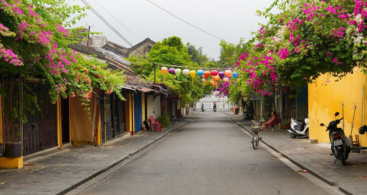 tranquil scenery in Hoi An