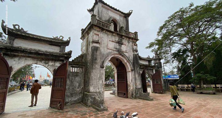 Tran Temple in Nam Dinh vietnam