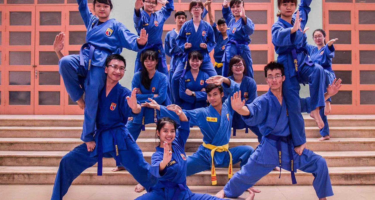 Vovinam – Viet Vo Dao is the largest and most developed in Vietnam with more than 60 schools around the world.