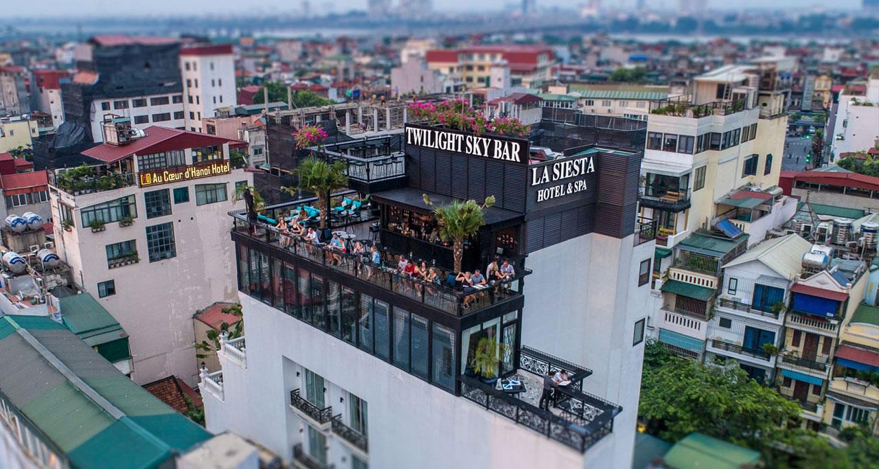 Twilight Sky Bar in La Siesta Central Hotel & Spa