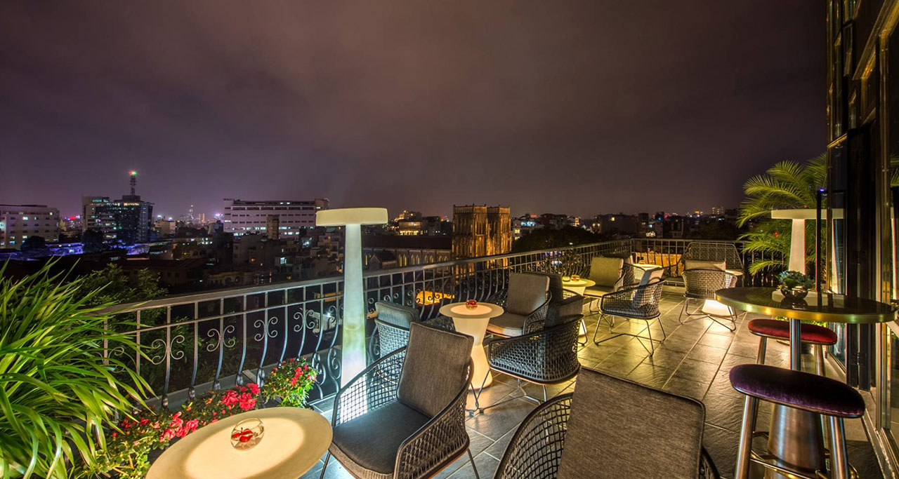The Chi Boutique Hotel's Sky bar