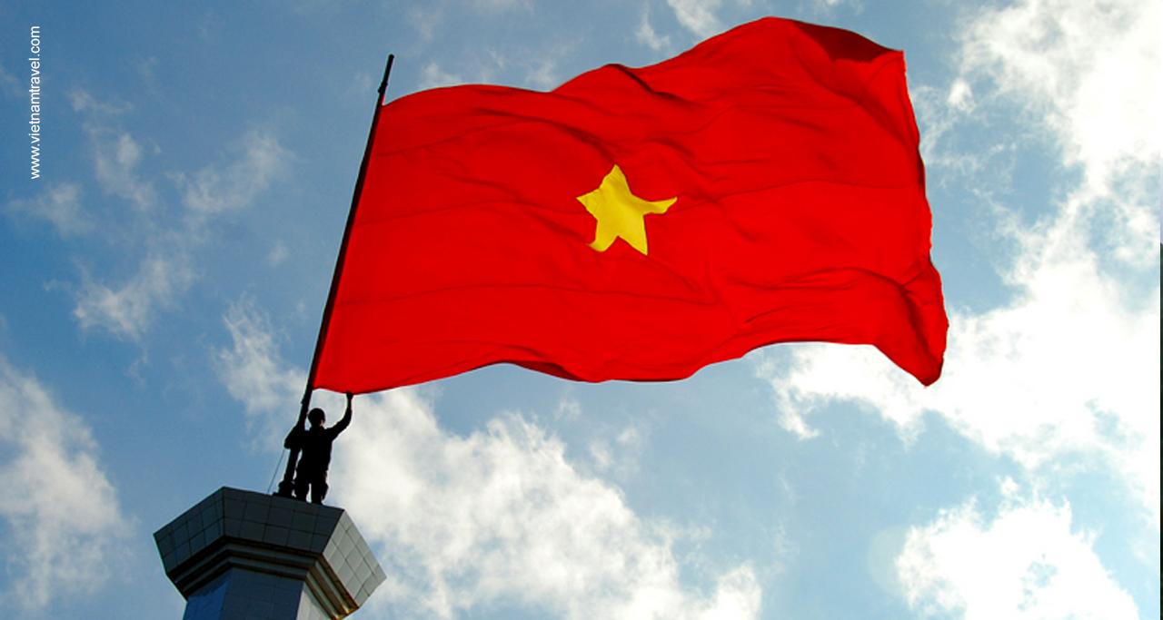Vietnam Flag's design