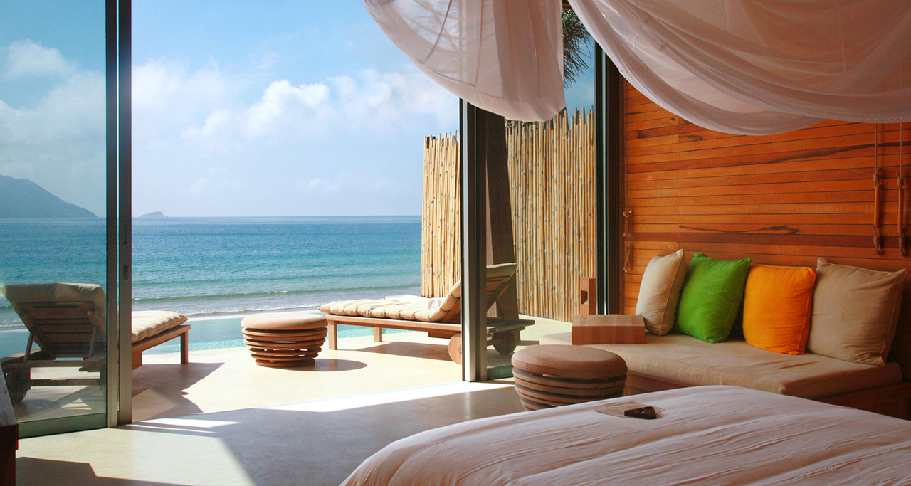 A luxurious resort in Con Dao island