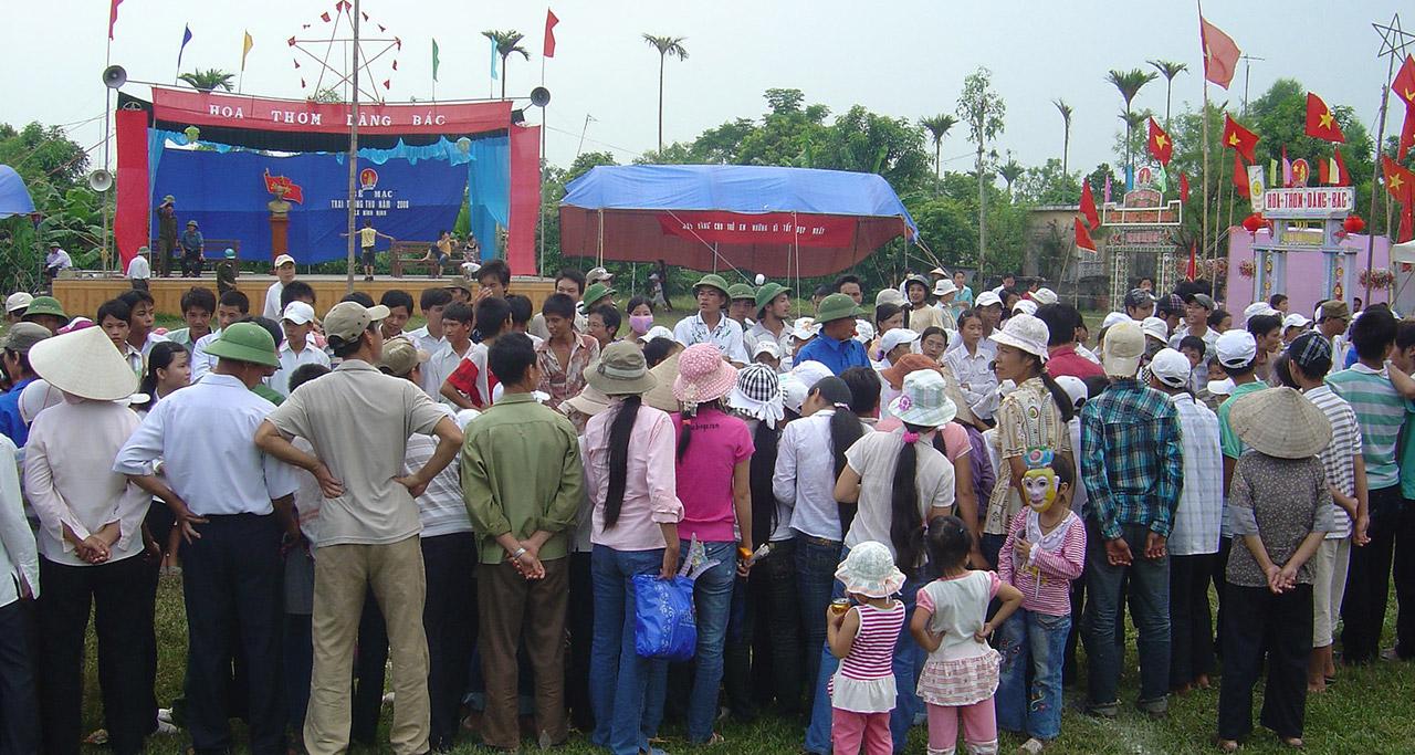 The celebration of Full Moon Festival