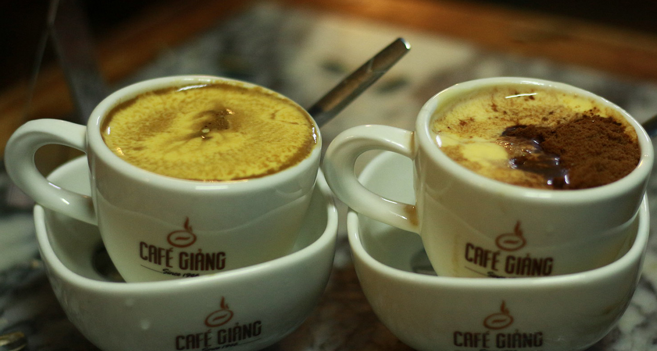 Places to try Egg Coffee