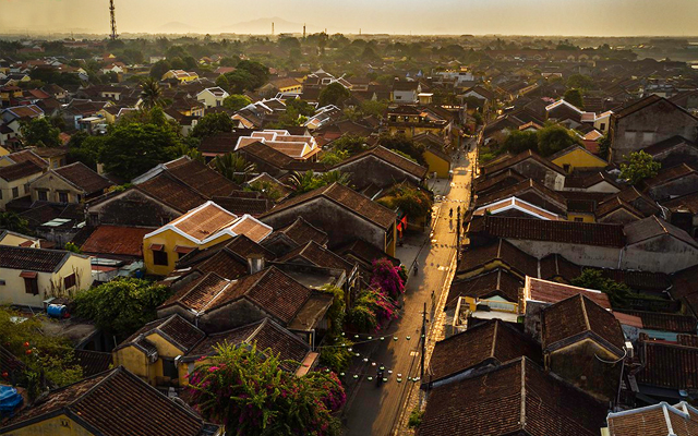 Overview of Hoi An, Vietnam