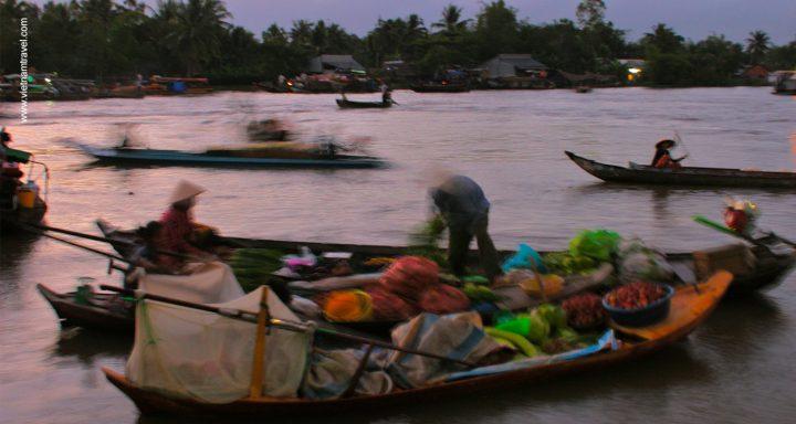 Phong Dien Floating Market - Authentic floating market in Vietnam