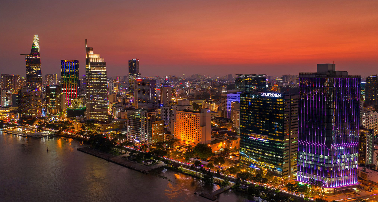 Saigon River & District 1 - Ho Chi Minh City
