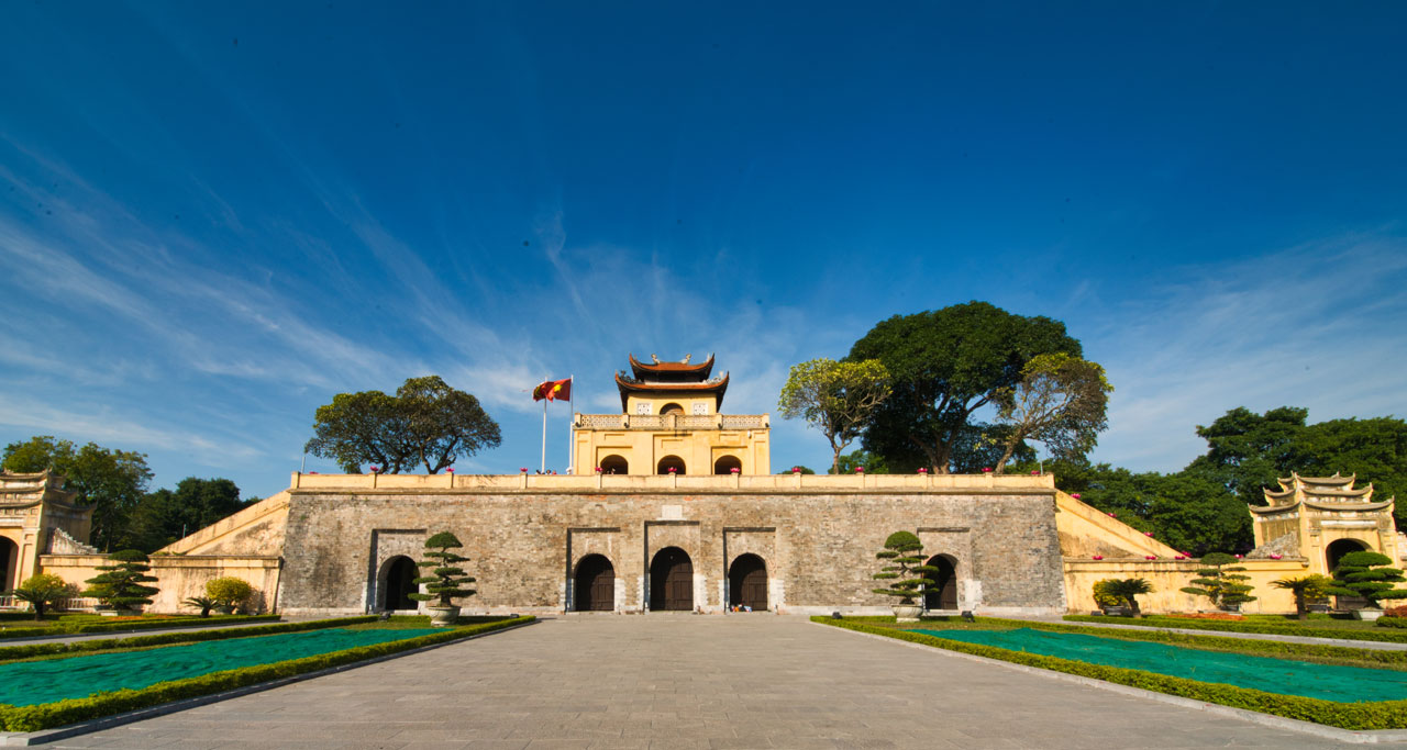 Visit Thang Long Imperial Citadel