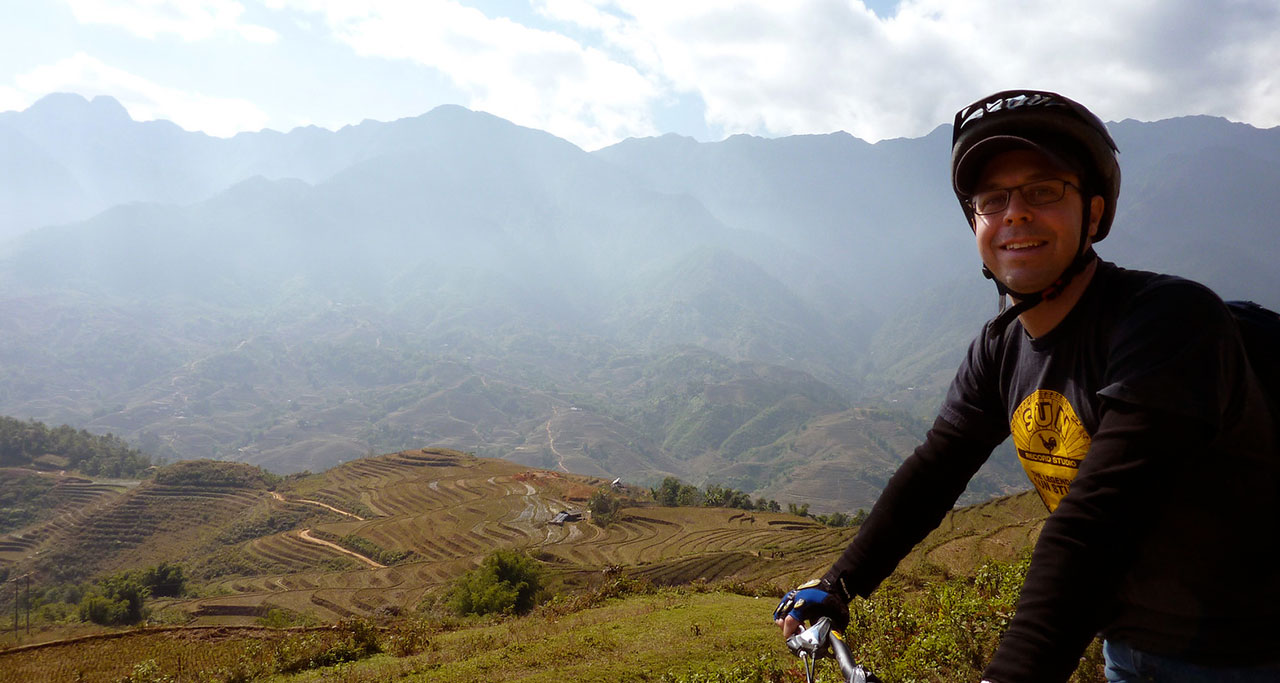 Biking in Sapa
