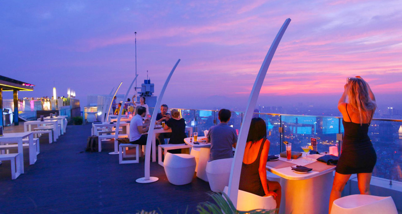 Things to do in Hanoi - Find a rooftop bar in Hanoi